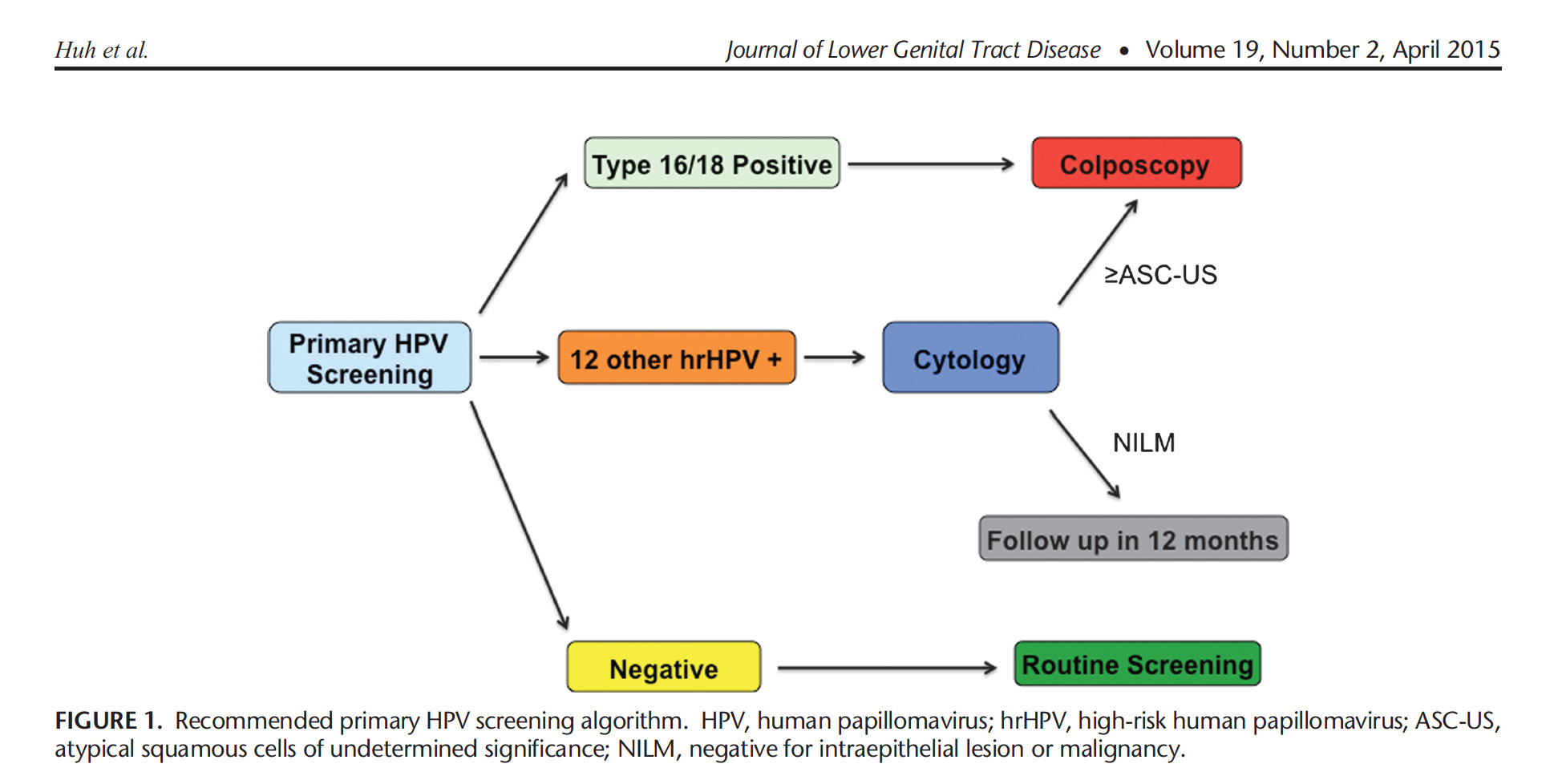 View 2017 Primary Hpv Screening Algorithm